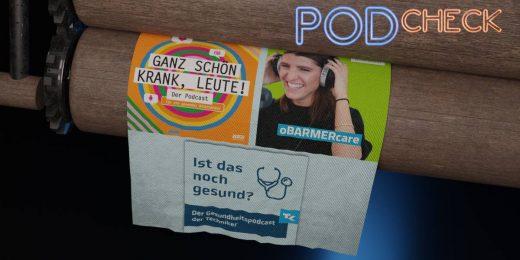 Podcasts im Test - DAK, TK, Barmer